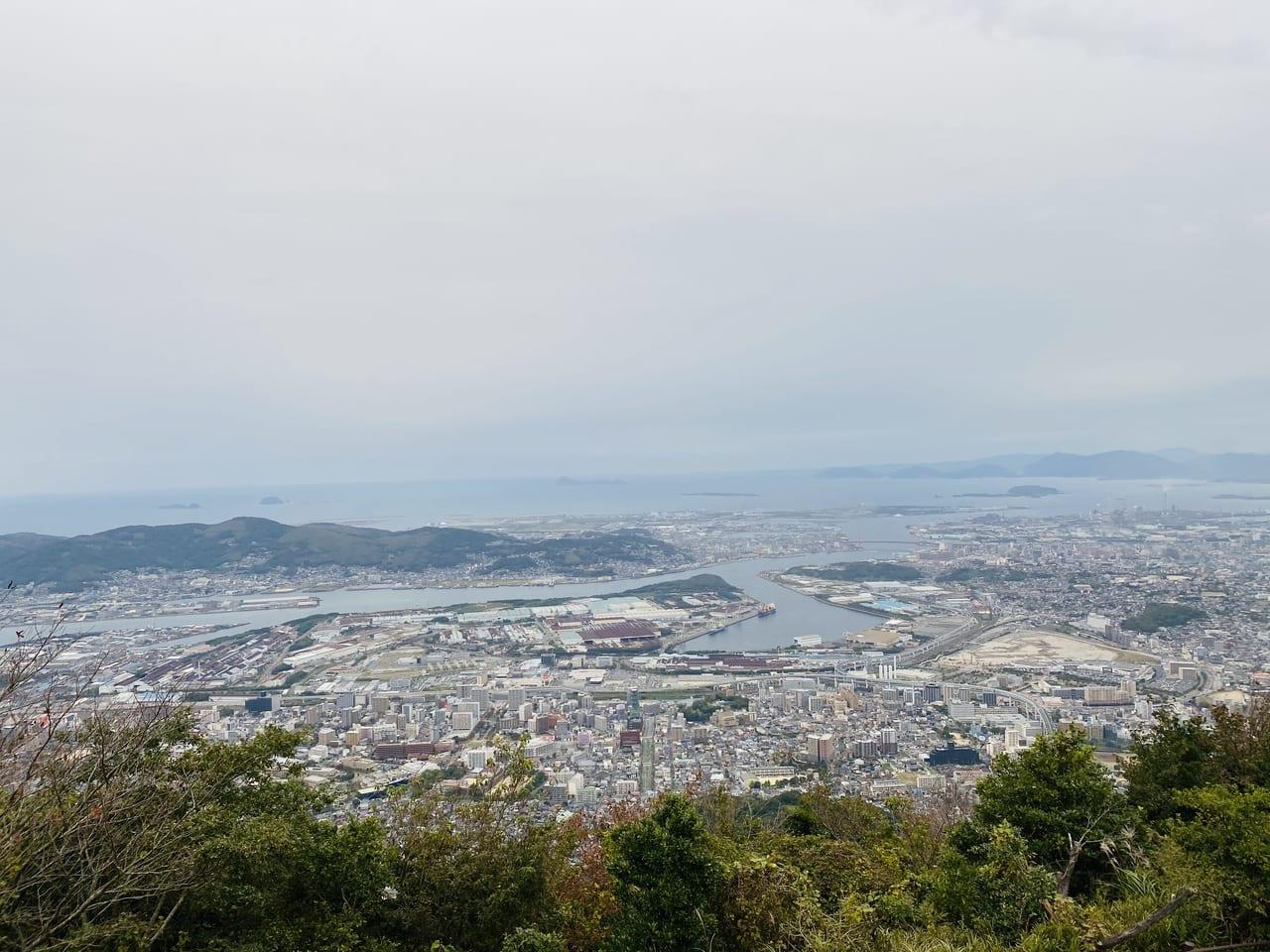 皿 倉山 ケーブル カー